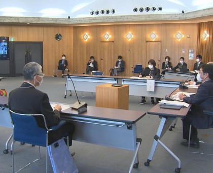 岡山県と市町村に配分されたワクチンの相互転用を確認