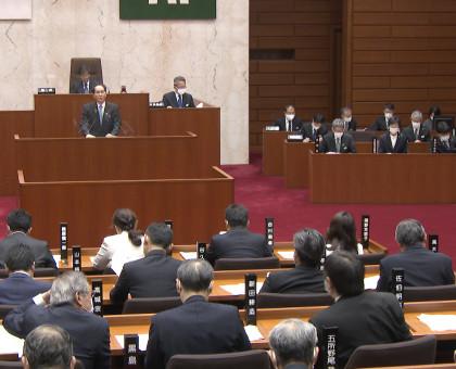 香川県議会は臨時会で時短協力金等コロナ対策補正予算案を可決