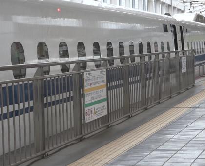 JR岡山駅 Uターンの混雑なし
