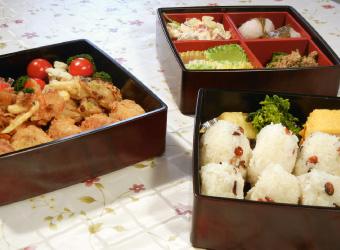 佳津子おばあちゃんの春のお弁当