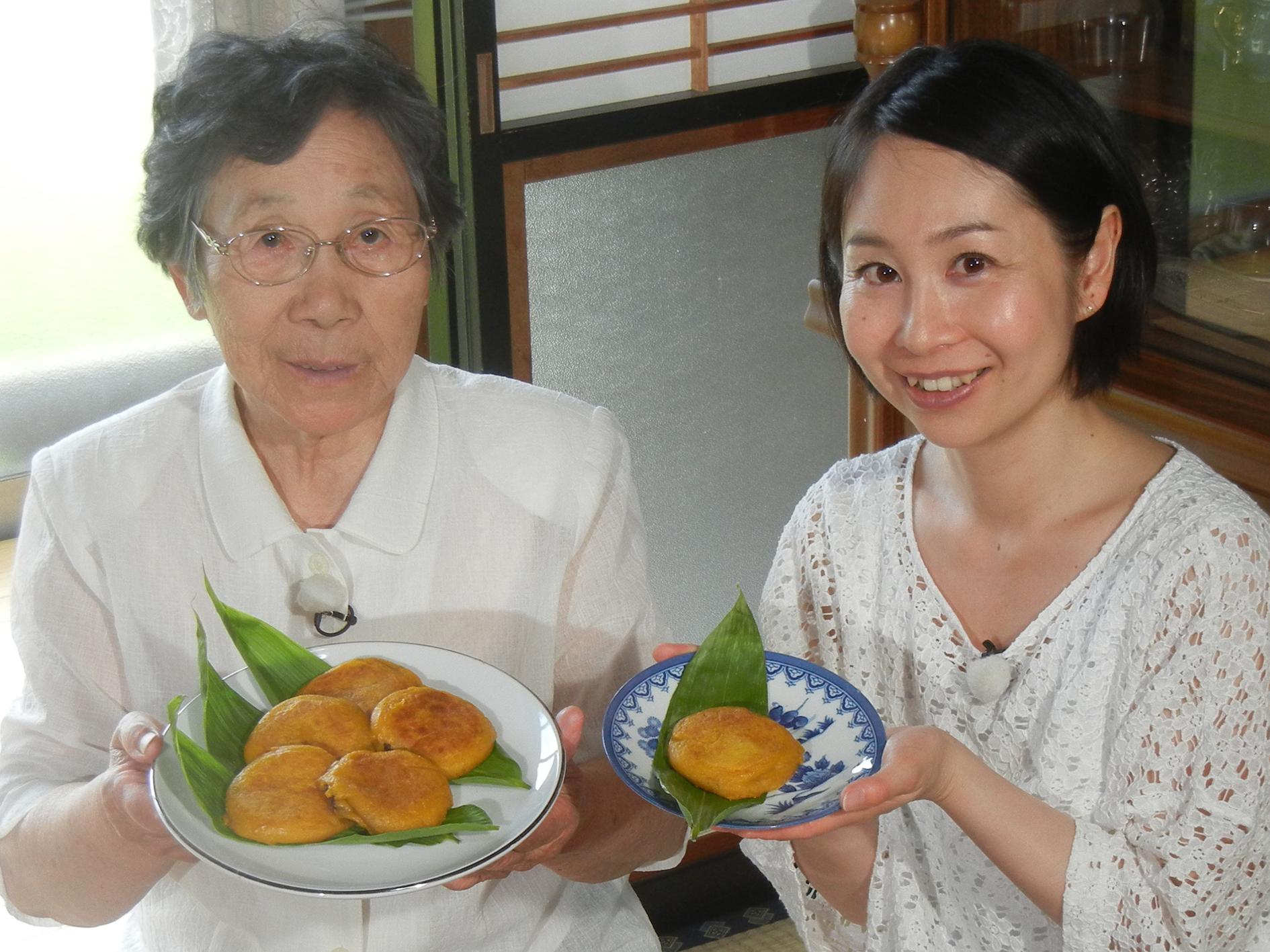 富美おばあちゃんのかぼちゃのおやき
