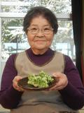 志々目道子さん81歳