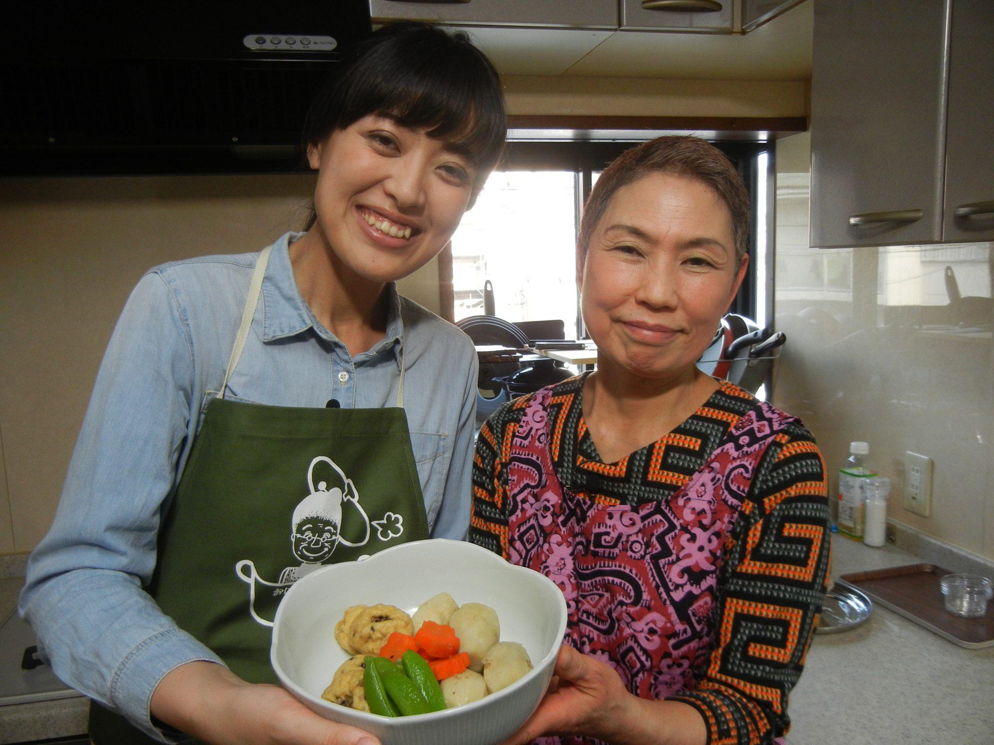 「美智子おばあちゃんのがんもどきの煮物」