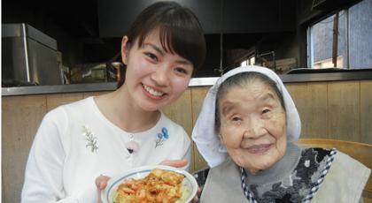 「キヨエおばあちゃんの芝えびのかき揚げ」