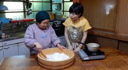 「恵美子おばあちゃんの柿の葉寿司」