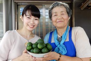 「國子おばあちゃんのすだちのちらし寿司」