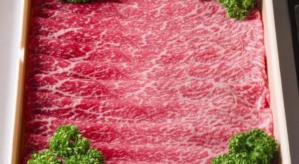 「熊本県産黒毛和牛もも肉しゃぶしゃぶ用600g」プレゼント・・・終了しました。