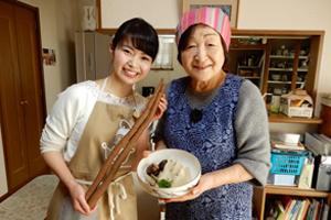 おばあちゃんの台所料理教室のお知らせ