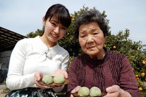 「サヨ子おばあちゃんのレタス大福」