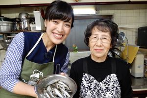 「ひろ子おばあちゃんの小鮎料理」