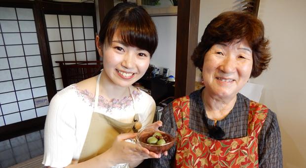 「千代おばあちゃんの桑粉ぜんざい」