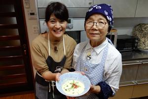 「芳美おばあちゃんのさつまいものホワイトスープ」