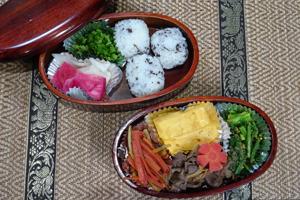 「美智子おばあちゃんの牛肉の佃煮弁当」