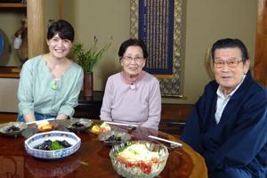「智子おばあちゃんのなすの揚げ煮」