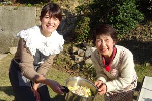 「洋子おばあちゃんの丸ごとキャベツ煮」