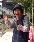 尼子千代子さん80歳