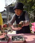 尼子千代子さん80歳2