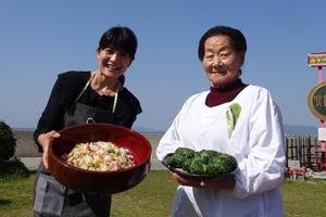 「すみこおばあちゃんのロメインレタス寿司」