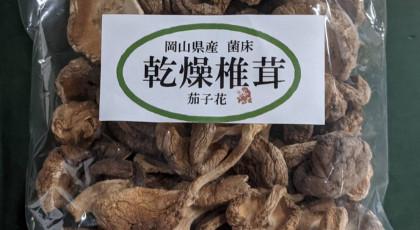 「岡山県産 乾燥椎茸」プレゼント・・・終了しました