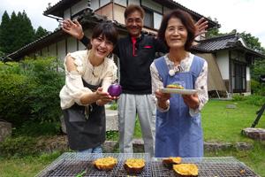 「益子おばあちゃんのナスの味噌焼き」