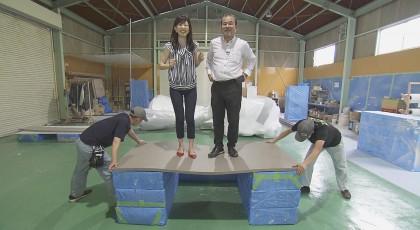"""8月31日放送「発泡スチロールで!?""""型破り""""な発想で飛躍」"""