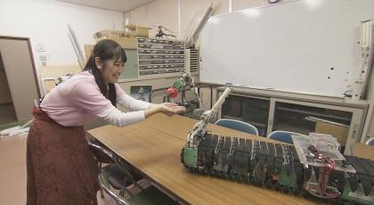 11月30日放送「すてき未来研究所 最新探査ロボ」
