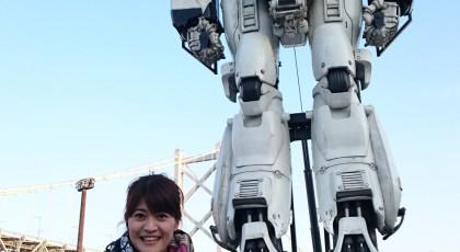 与島に巨大ロボット上陸!!