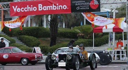 チャリティークラシックカー ラリー ベッキオ・バンビーノ2019春季大会