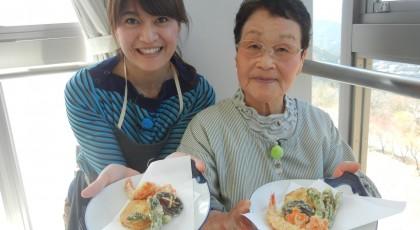 きみこおばあちゃんの台所ロケIN西粟倉