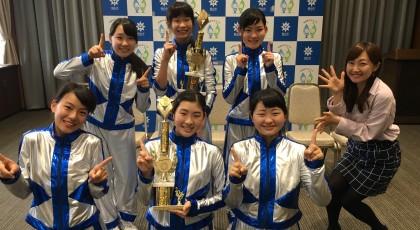 芳泉中ダンス部が国際大会で優勝!