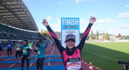 私の11月♪おかやまマラソン