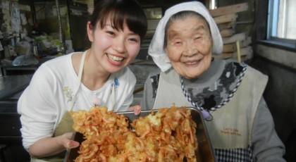 キヨエおばあちゃんの芝えびのかき揚げ♪