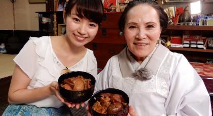 シヅヨおばあちゃんのどてめし♪