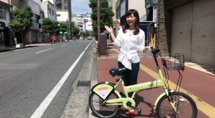 今回のみらいリンリン☆おかやまは県庁通り!