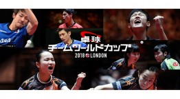 卓球男子ワールドカップ2018