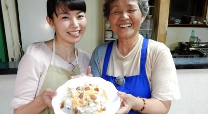 國子おばあちゃんのすだちのちらし寿司♪