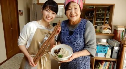 佐代子おばあちゃんの高野豆腐の含め煮♪
