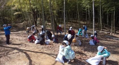 未来につなぐ!エコプロジェクト 1日里山サポーターin就実・森の学校