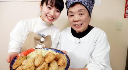 クニおばあちゃんの梨の肉巻きフライ♪