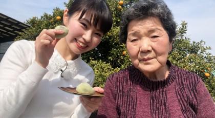 サヨ子おばあちゃんのレタス大福♪