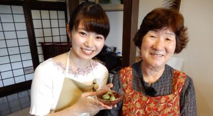 千代おばあちゃんの桑粉ぜんざい♪