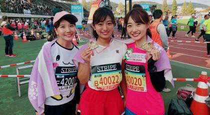 おかやまマラソン2019 ファンランに参加しました☆