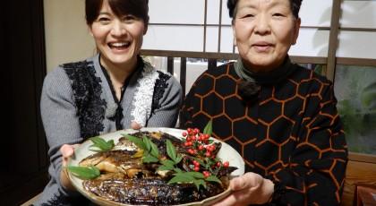 和子おばあちゃんの 雑魚の南蛮漬け