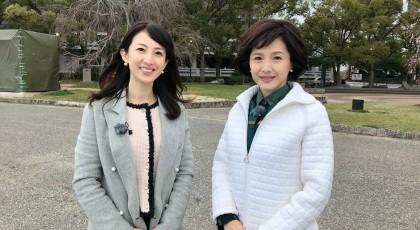 女優の水野真紀さんと・・・