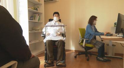 四肢まひ医師の挑戦